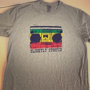 Slightly Stoopid reggae Boombox T-Shirt size M